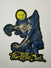IRON MAIDEN FEAR OF THE DARK EMBROIDERED BACK PATCH