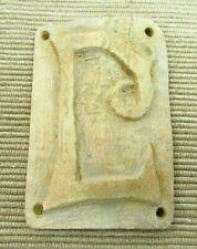 Great Condition Large Ancient Roman Bone Shield Amulet c. 100-400 A.D. ( a127)