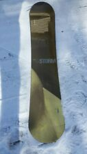 LIQUID STORM SNOWBOARD - 144 cm - Tru-Flex Solid Wood Core - Used Condition