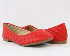 Women Comfort Sexy Ballet Flats Shoes New Quilted Design Classical Fashion