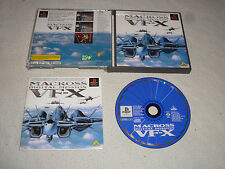 JAPAN IMPORT GAME PLAYSTATION MACROSS DIGITAL MISSION VF-X PS1 PSX W CASE MANUAL