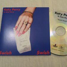 KATY PERRY FEAT. NICKI MINAJ SWISH SWISH 7 REMIXES CD PROMO FRANCE collector