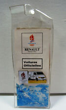 PINS JO ALBERTVILLE 92 OLYMPIC WORLD GAMES RENAULT AUTO VOITURE TRAFFIC