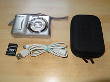 Sanyo VPC-S1422 compact camera - 14 MP, 8x zoom, works on 2x AA batt.