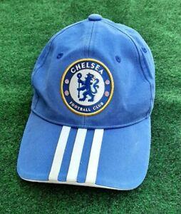 Chelsea FC Adidas Adjustable Strapback Hat Premier League Soccer