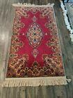 2.10x5 Vintage Karastan Kirman 700 #762 Multi Color Wool Rug New Zealand Wool