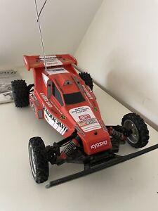 Kyosho Raider Vintage Rc Buggy 2wd Car