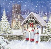 Charity Christmas Card Air Ambulance Service CHRISTMAS EVE Envelopes 10 Pack
