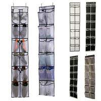 Over Door Shoe Organizer Closet Holder Shelf Storage Hanging Bag Mesh Pockets