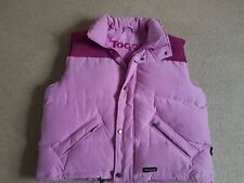Toggi Authentic Down Feather Puffer Puffa Gilet Vest Pink UK 16