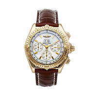 Breitling Crosswind Special Auto Yellow Gold Mens Strap Watch K4435512/A513
