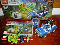 SET LEGO 75916 JURASSIC WORLD IMBOSCATA DILOPHOSAURUS >COMPLETO 100% >RARITA'