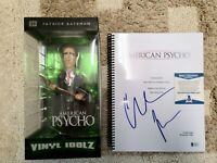Christian Bale, American Psycho, Autographed, Signed Script With Limited Edition