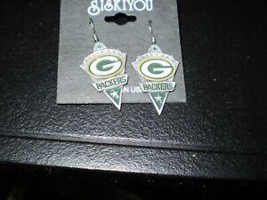 Greenbay Packers   Siskiyou Dangle Earrings