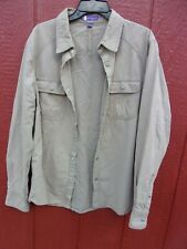 Ibex Outdoor Clothing shirt / jacket Organic Cotton and Hemp Men's Large