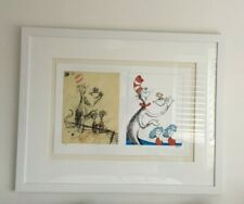 CAT IN THE HAT FISH THING 1 AND THING 2 SERIGRAPH
