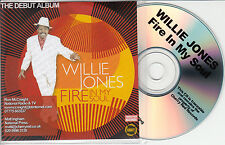 WILLIE JONES Fire In My Soul UK promo test CD Steve Cropper Black Francis