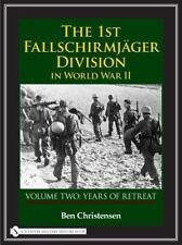 Book - The 1st Fallschirmjäger Division in World War II: Vol 2 Years of Retreat