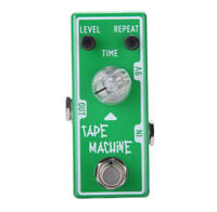 Tone City Tape Machine Delay Guitar Effect Compact Foot Pedal New