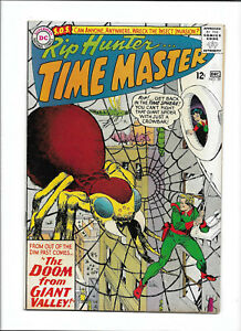 """RIP HUNTER...TIME MASTER #29 [1965 FN-] """"THE DOOM FROM GIANT VALLEY!"""""""