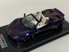 1/18 Ferrari 458 Liberty Walk LB Performance in Gloss Purple  #18/18  BBR MR