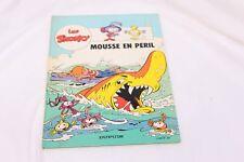 Bande Dessinée Les Snorky - Mousse en péril - Dupuis 1986