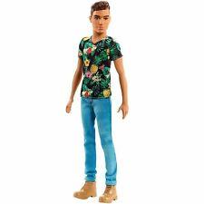 Mattel Barbie Fashionistas Ken Doll (15) Tropical Vibes Fashion Doll - New Boxed
