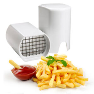 French Fries Chip Vegetable Chopper Slice Potato Cutter Kitchen Tool Thin Home