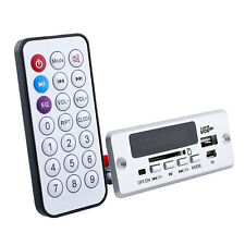 Silver New Remote USB FM MP3 Player Module 02CBT Remote parts without bluetooth*