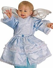 DELUXE BLUE ANGEL BABY BUNTING HALLOWEEN COSTUME INFANT 0 - 9 MONTHS