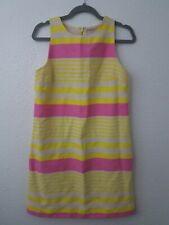 Ann Taylor LOFT dress Sz 8 Sleeveless Striped Summer