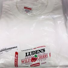 ff9ccd3e0f73 Supreme Luden's Tee Wild Cherry Throat Drops White Tee Shirt Size XL Fw18  T44