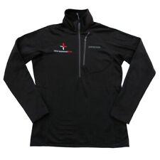 Patagonia M Black R1 Pullover Long Sleeve 1/4 Zip Light Jacket IDEXX Logo $129