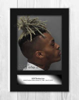 XXXTentacion (2) A4 signed mounted photograph picture poster. Choice of frame.
