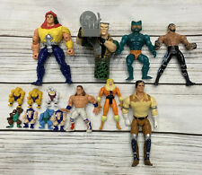 Joblot action figures Small Soldiers WWE MOTU Bravestarr vintage 80s 90s spares