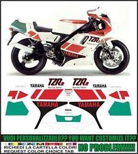 kit adesivi stickers compatibili tzr 125 r 1992 4dl sp