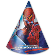 6 Marvel The Amazing Spider-Man Movie Paper Party Cone Hats