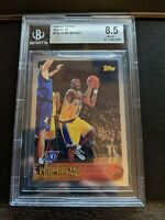 1996-97 Kobe Bryant Topps 50th Foil #138 Rookie RC MINT BGS 8.5