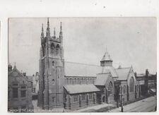 Church Of The Sacred Heart Blackpool Lancashire Vintage Postcard 487b