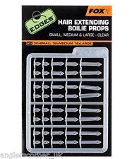 Fox Bords Hair Extensible bouillette accessoires transparent / pêche à la carpe