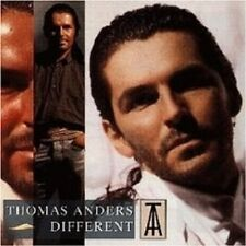 "THOMAS ANDERS ""DIFFERENT"" CD 12 TRACKS NEW+"