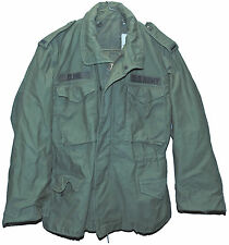 US Army Field Jacket M-65 OG-107 Coat Cold Weather Man's Medium Short 1976