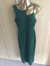 BNWT Lovely NEXT Green sparkly strtechy style dress size 14-£38