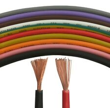 Thin Wall Automotive Cable Wire Your choice of Size Length Colour 1mm 2mm c.s.a