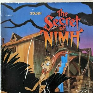 Vintage Book Secret Of Nimh From 1982