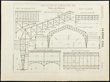 1891 - Exposition universelle de Prague de 1891 - Plan ancien