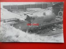 PHOTO  LMS CLASS 3F LOCO NO 43753 IN A SCRAPYARD AT INCE WIGAN 26/8/60