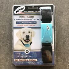 New listing New Pro Line Adjustable No Bark Large Dog Collar Up To 27.087� *No Shock