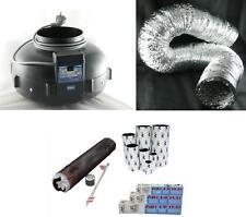 KIT ARIA ASPIRATORE centrifugo 160 mm  CABLATO + TUBO + FILTRO ODORSOK