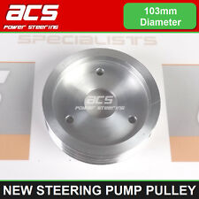 RENAULT ESPACE MK4 2.2 DCi POWER STEERING PUMP PULLEY (Bolt On Type) - NEW